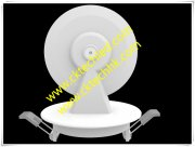 Ceiling recessed LED window lamp 360°